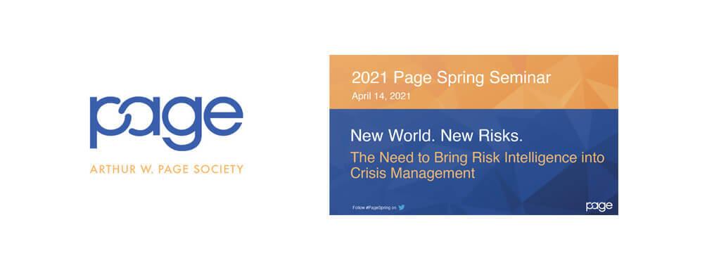 Page spring seminar 2021