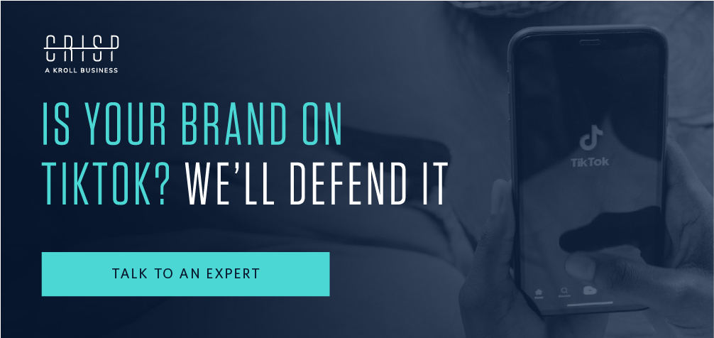 Is your brand on TikTok?